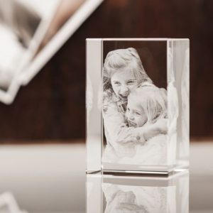 3D Photo in Glass
