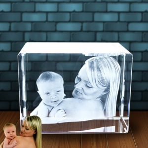 3D Photo in Glass Large