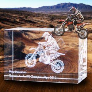 Vehicle 3D Photo Crystal