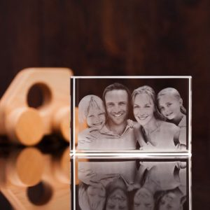 Supersize 3d photo crystal