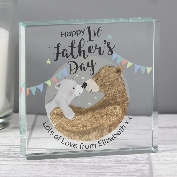 1st Fathers Day Personalised Gift