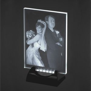 2D Laser Engraved Photo Crystal