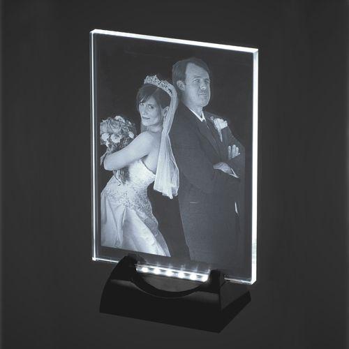 2D Laser Engraved Photo Crystal