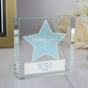 Baby Boy Personalised Keepsake Gift