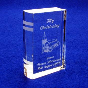 Engraved Christening Bible Church Design