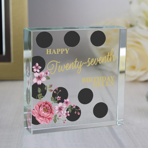 Floral Birthday Keepsake Token