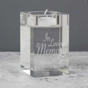 In Loving Memory Tealight Holder