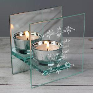 In Loving Memory Tea Light Holder