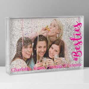 Personalised #Besties Photo Frame