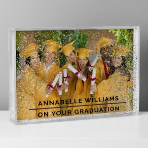 Personalised Glitter Shaker Photo Frame