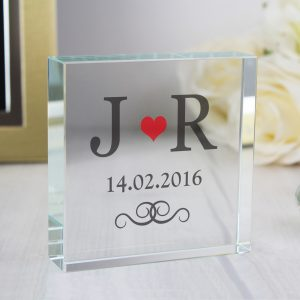 Personalised Anniversary Crystal Token