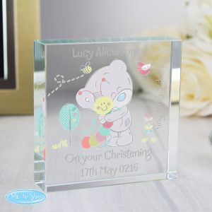 Tiny Tatty Teddy Crystal Token