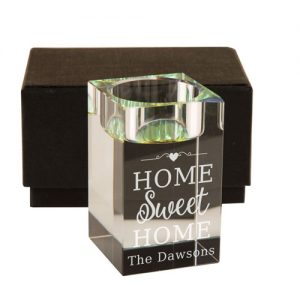 home sweet home tealight holder