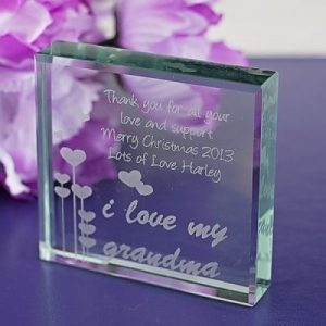 Grandma Glass Keepsake