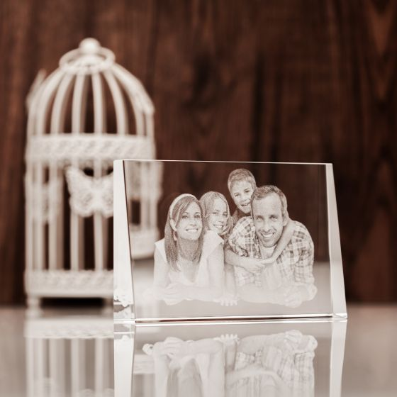 Laser Engraved 2D Photo Gift