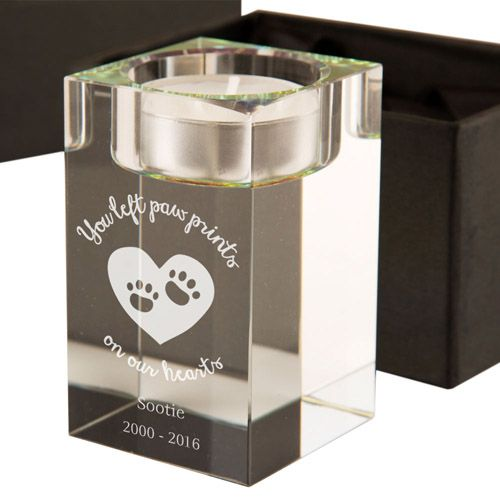 pet memorial tealight holder