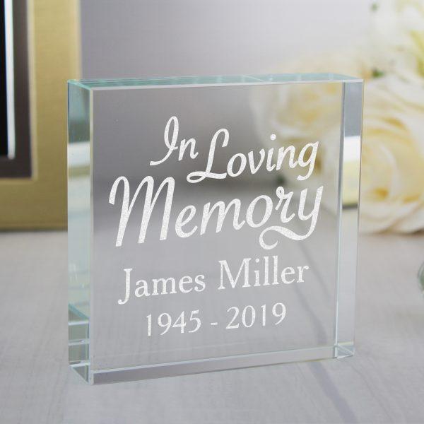 Personalised In Loving Memory Keepsake Gift