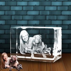3D Photo Crystal Large Full Body