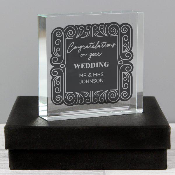 Personalised Congratulations Crystal Token