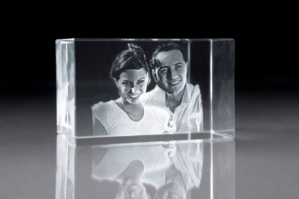 large full body 3d photo crystal