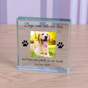 Personalised Pet Photo Crystal