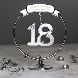 18th Birthday Personalised Crystocraft Gift