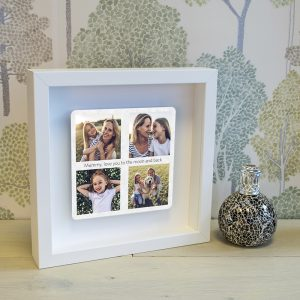 Personalised Favourites Box Photo Frame