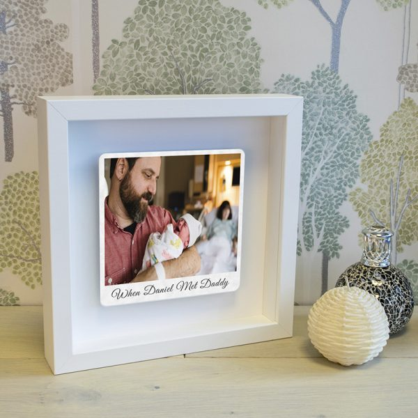 Fathers Day Photo Box Frame