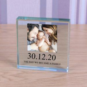 Glass Token - Photo Family