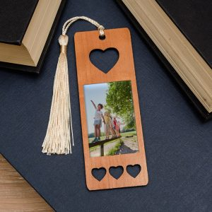 Photo Bookmark - Heart