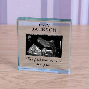 Glass Token - Baby Scan