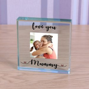 Glass Token - Love you...mummy