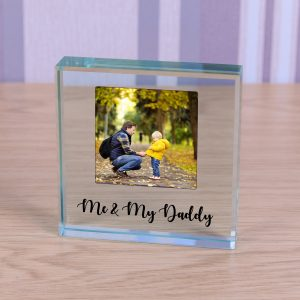 Glass Token - Me & My Daddy