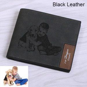Men's Photo Leather Wallet